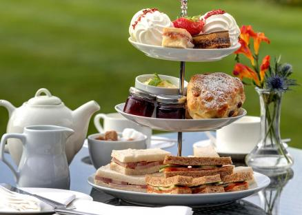 afternoon tea knights hill hotel spa